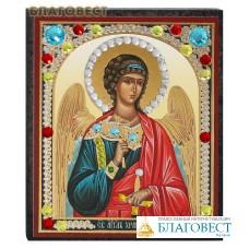 """Икона """"Ангел - Хранитель"""" со стразами. В ассортименте"""