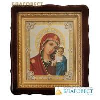 """Икона в резном киоте Пресвятая Богородица """"Казанская"""""""