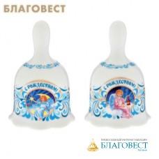 """Колокольчик Рождественский """"Милые ангелочки"""""""