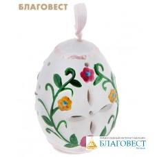 Яйцо пасхальное с подсветкой керамика (в ассортименте)